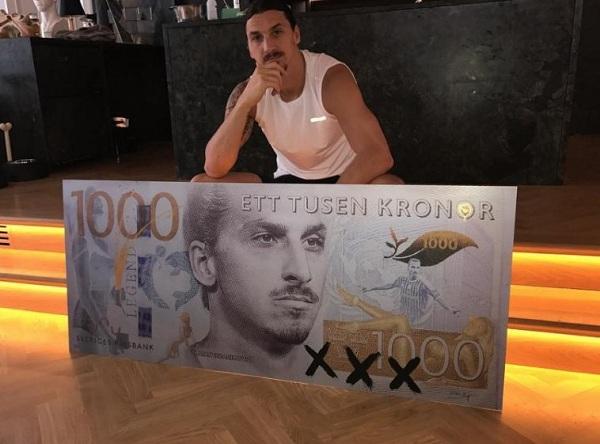 ibrahimovic 1000 swedish kroner