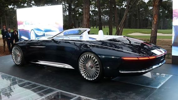 Vision Mercedes-Maybach 6 Cabriolet pictures
