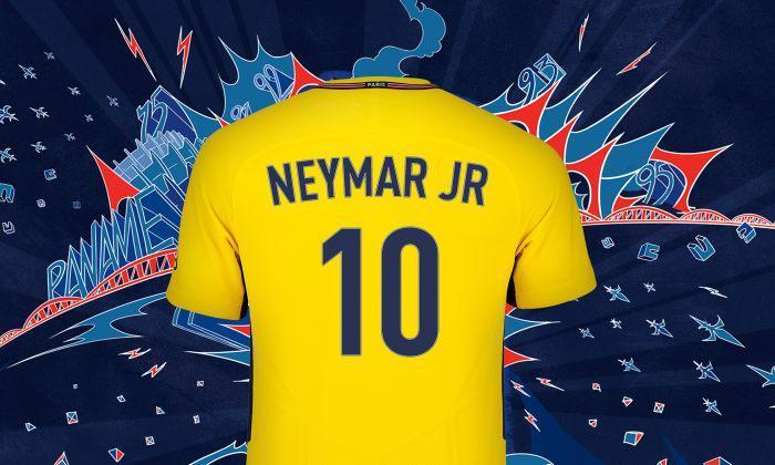 psg neymar number 10