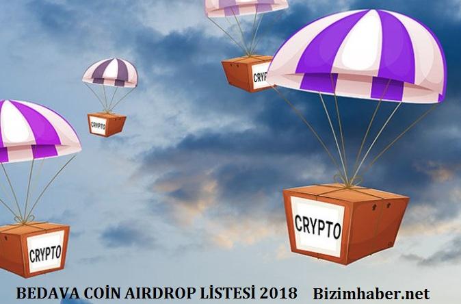 coin airdrop 2018