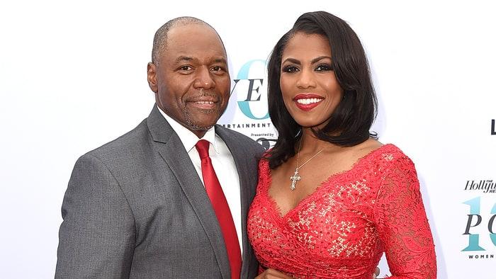 Omarosa Manigault Newman and her husband John Allen Newman