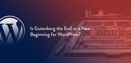 wordpress gutenberg nedir
