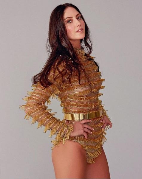 Miss Turkey 2018 Aylin Sabrina White