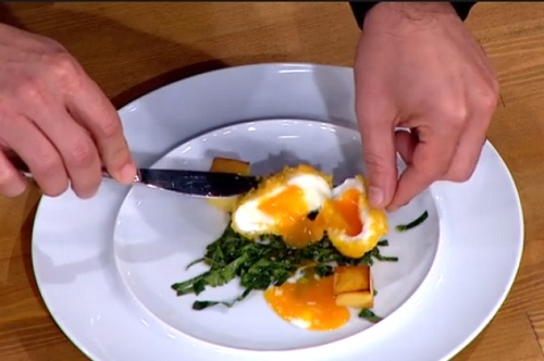 master chef pane yumurta