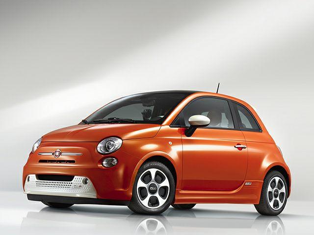 2020 elektrikli arabalar - Fiat 500 e
