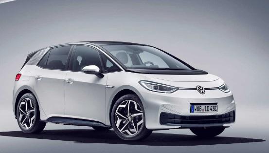 2020 elektrikli arabalar- Volkswagen id3